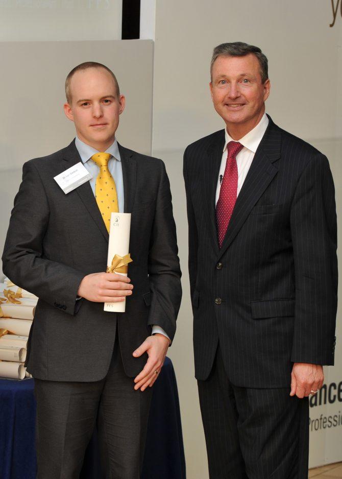 Sam Binstead achieves Chartered status